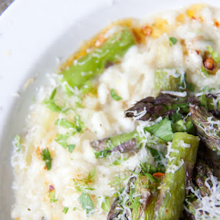 Asparagus And Fennel Risotto