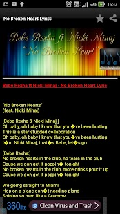 No Broken Hearts Bebe Rexha - screenshot