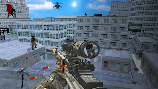 US Army Commando Fight - Counter Terrorist Battle apk screenshot