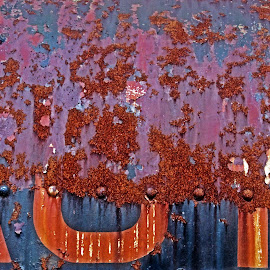 IOW rust 02 by Michael Moore - Abstract Patterns