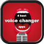 4 Best Voice Changer Apps