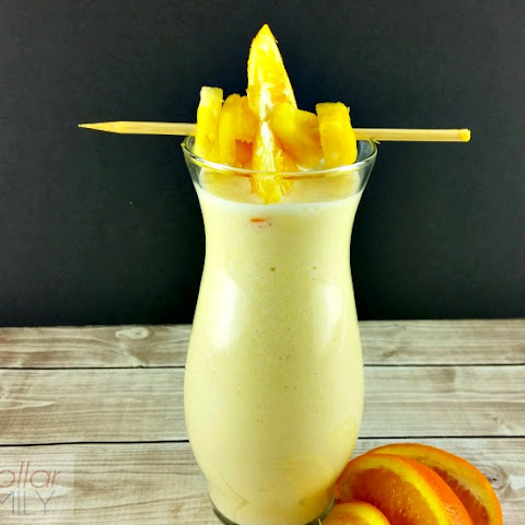 Breakfast Smoothie Recipes - Pineapple Orange Breakfast Smoothie