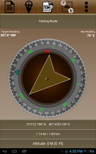 GPS Car Parking - screenshot