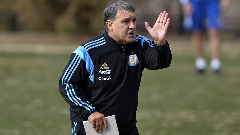 Soccer: Argentina National Team practice
