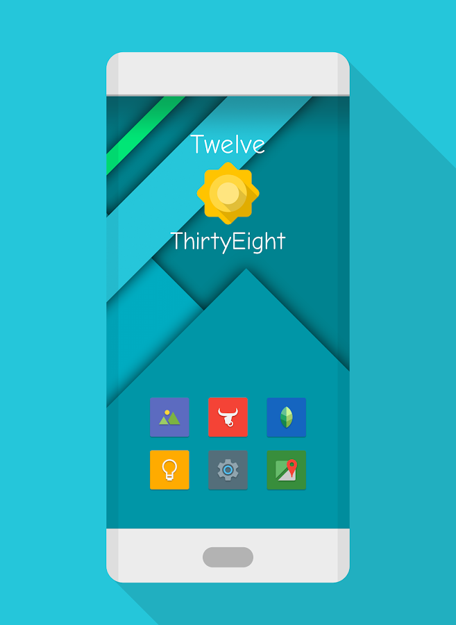 NAXOS FLAT - ICON PACK Screenshot 1