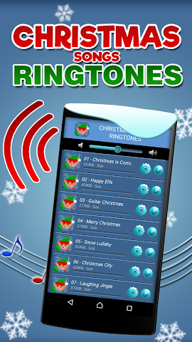 android Chansons de Noël Sonneries Screenshot 1