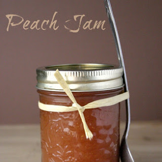 Peach Jam ( fridge style )