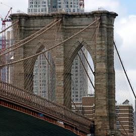 by Eva Pastor - Buildings & Architecture Bridges & Suspended Structures ( brooklyn bridge )