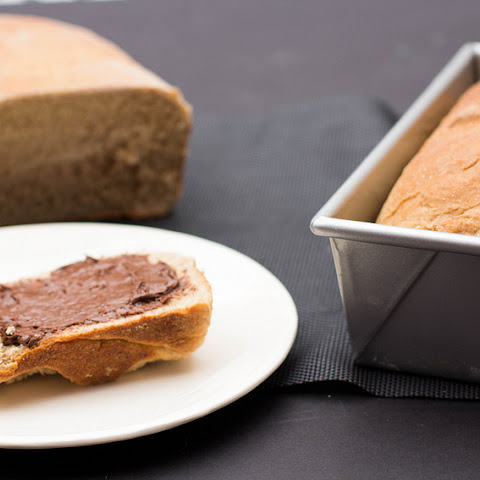 Honey Whole Wheat Bread Loaf