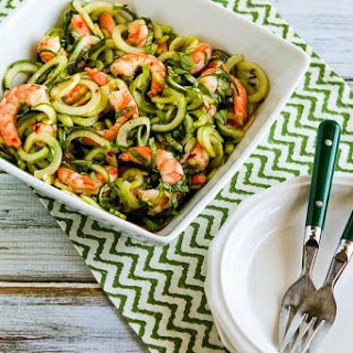 Shrimp and Cucumber Noodle Salad with Thai Flavors