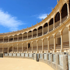 La Plaza de Toros de Ronda by Zebedee  Muller - Buildings & Architecture Public & Historical