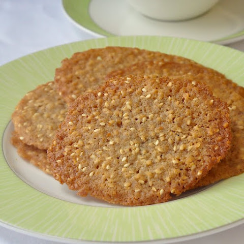 Sesame Wafer Cookies