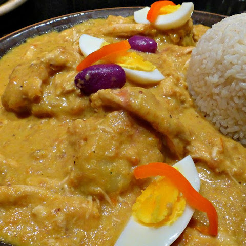 Creamy Spiced Chicken – Peruvian Aji Gallina