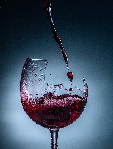fine wine by Curtis Jones - Artistic Objects Other Objects ( wine, broken wine glass, wine glass )