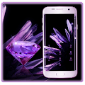 App Purple Crystal Shining AppLock apk for kindle fire