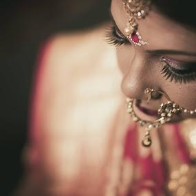 Beautiful Bride by Pranab Sarkar - Wedding Getting Ready ( bride, bengali, portrait, indian wedding, indian )