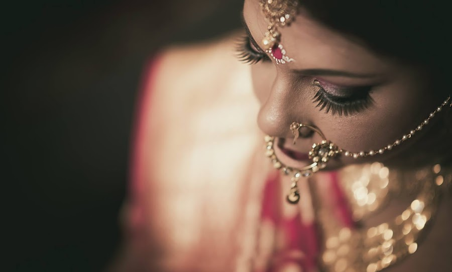 Beautiful Bride by Pranab Sarkar - Wedding Getting Ready ( bride, bengali, portrait, indian wedding, indian )