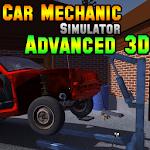 Car Mechanic Simulator Advanced 3D Icon