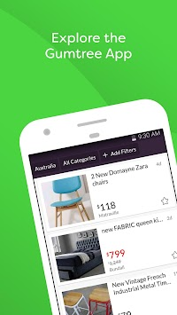 Gumtree Australia Classifieds APK screenshot thumbnail 1