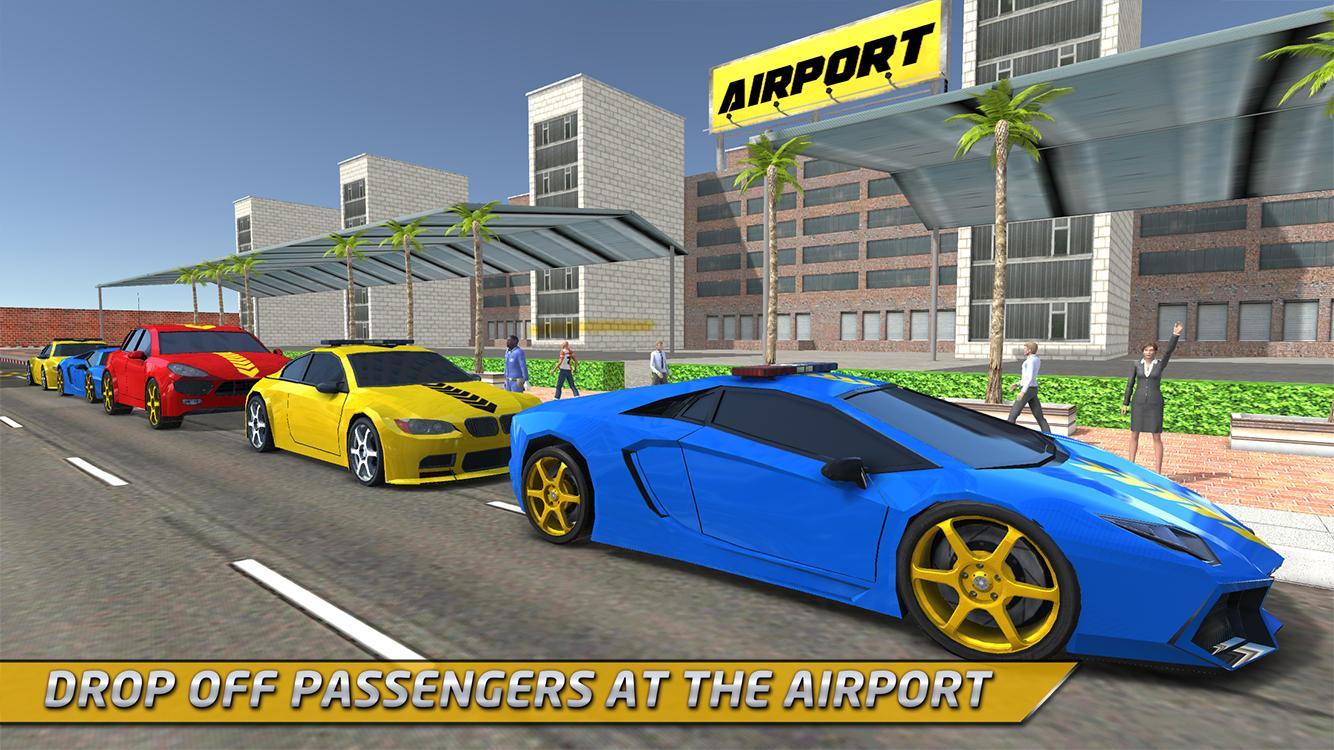 Taxi Driver 0D Simulator Spiel – Screenshot
