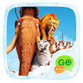 (FREE) GO SMS ICE AGE THEME APK for Bluestacks
