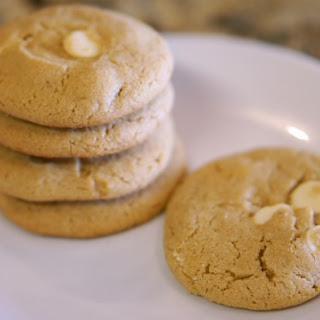 Gluten-free Peanut Butter White Chocolate Chip Cookies