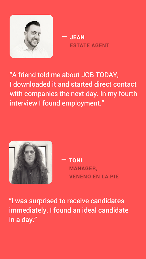 JOB TODAY – Job Search Screenshot 2