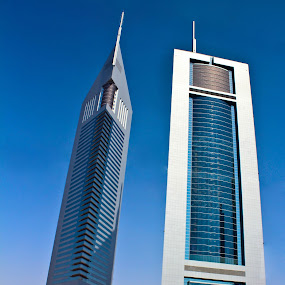 Emirates Towers~Dubai, UAE by Jes Tan - Buildings & Architecture Other Exteriors