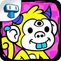 Monkey Evolution - Clicker For PC (Windows And Mac)
