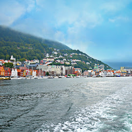 Bergen by Hemin Ahmed - City,  Street & Park  City Parks ( sky, city, sea )