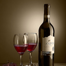 Vintage Wine #3 by Rakesh Syal - Food & Drink Alcohol & Drinks (  )