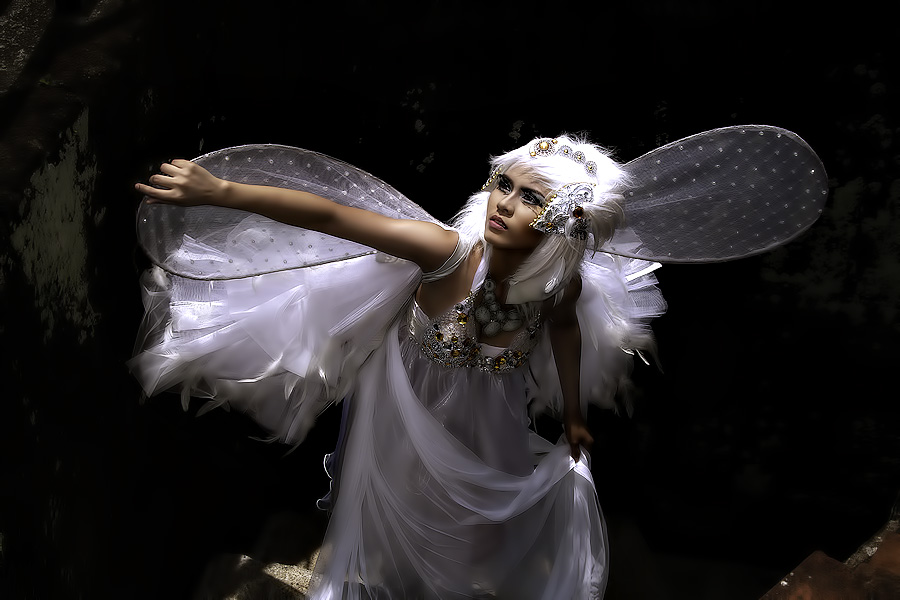 LET ME FLY ONCE MORE by Lhito  Trinidad - People Fashion ( fashion )