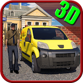 Postman Mail Delivery Van 3D APK for Bluestacks