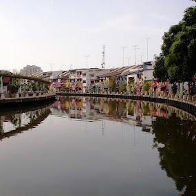 Melaka River by Muhamad Edy Abdul Kasim - Instagram & Mobile Other