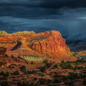by Stephen  Barker - Landscapes Deserts