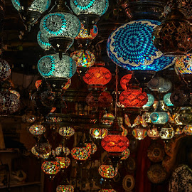 Turkish Nightlamps by Sourav Makal - Artistic Objects Glass ( colour, lamps, interior, sparkling, glass )