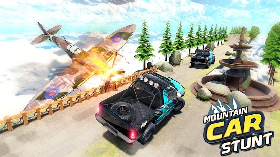 Mountain Climb Stunt: Off road Car Games for pc
