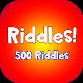 Riddles - Just 500 Riddles