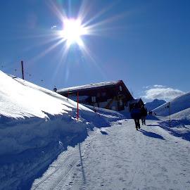 by Serguei Ouklonski - Landscapes Travel ( mountai, arosa, graubünden, landscape, frozen, apls )