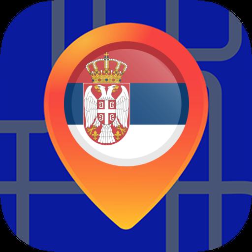 Android aplikacija ОфКарте Србије: Оффлине Мапе без Интернета