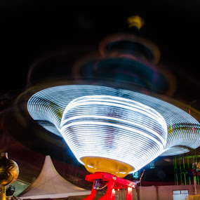 Spinning top  by Mohammed Hashmi - City,  Street & Park  Amusement Parks