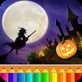 Halloween Drawing for kids APK for Bluestacks