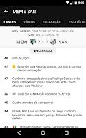 Screenshot of Santos SporTV