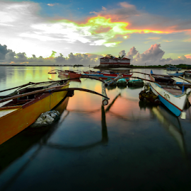 Islet carriers by Dave Lerio - Landscapes Waterscapes ( relax, tranquil, relaxing, tranquility )