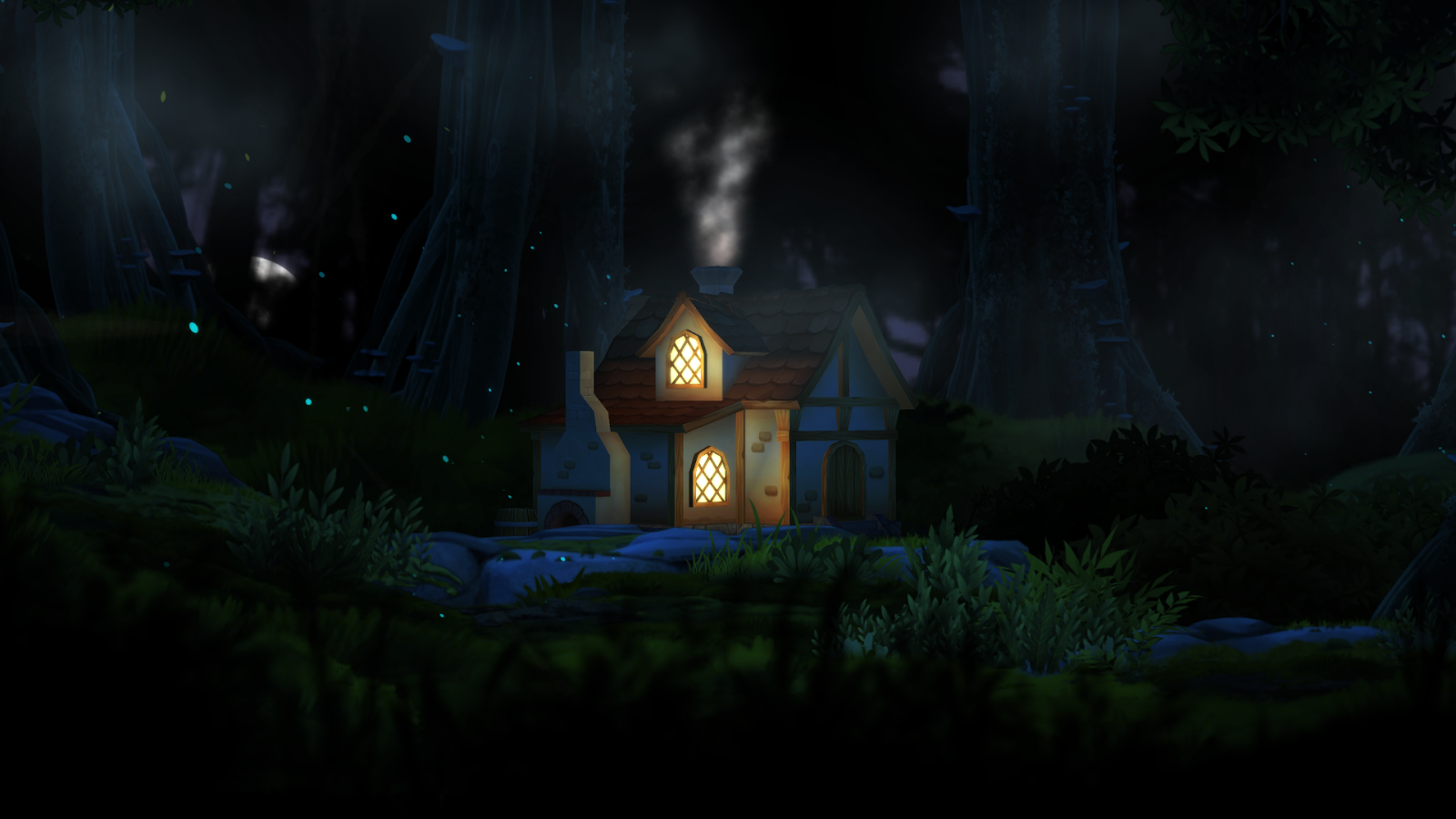 3D Forest House Full LWP Screenshot 17