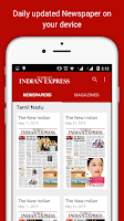 Screenshot of The New Indian Express