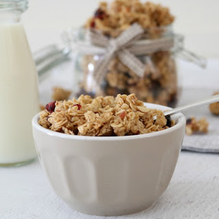 Homemade Granola With Coconut Oil Recipes
