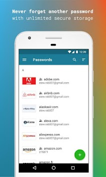 Dashlane Free Password Manager APK screenshot thumbnail 1