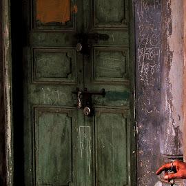 LOCK & KEY by Dipanwaya Saha - Digital Art Things ( abstract, story, art, artistic, people,  )
