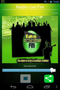 Rádio Uai Fm - screenshot